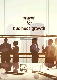 Prayer for business growth