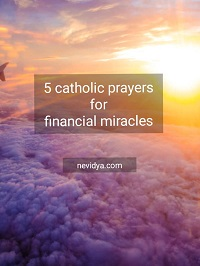 5 Catholic prayers for financial miracles