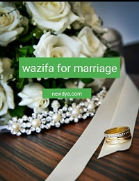 Effective wazifa for marriage